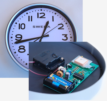 Geoffs projects gps synchronised clock gps synchronised clock ccuart
