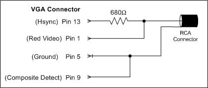 Vga To Rca Diagram - Schematics Online Vga To Rca Wiring Diagram on vga pinout diagram, hdmi to vga converter circuit diagram, component to vga pin diagram, vga to s-video diagram, vga wiring color code, vga to rca cable, composite to component wiring diagram, vga connector diagram, vga cable diagram, vga to composite wiring-diagram, 24-pin vga diagram, vga to rca converter box,