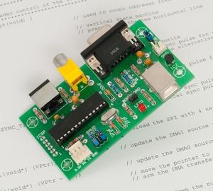 Geoff's Projects - ASCII Video Terminal